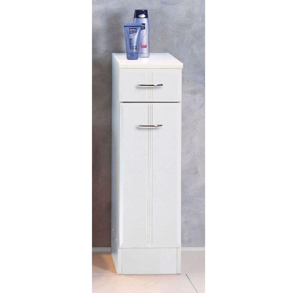 Badezimmer-Unterschrank in Weiß   Bad > Badmöbel > Waschbeckenunterschränke   Weiß   Holzwerkstoff   Star Möbel