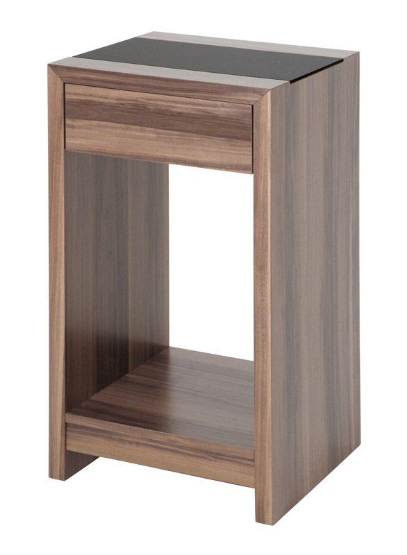 Telefontisch in Nussbaumfarben | Flur & Diele > Telefontische | Braun | Holzwerkstoff | Tollhaus