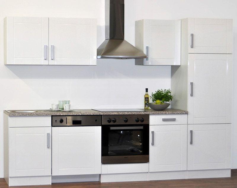Kücheneinrichtung in Weiß (7-teilig)
