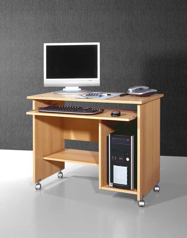 Computertisch in Buchefarben | Büro > Bürotische > Computertische | Holz | Holzwerkstoff | Möbel Exclusive