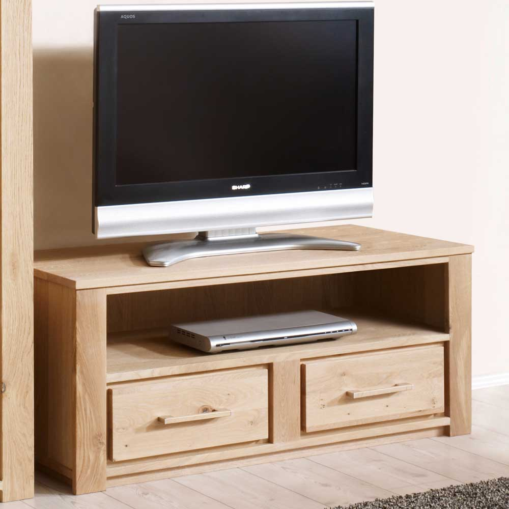 tv tisch aus wildeiche massivholz ab 769 00 eur. Black Bedroom Furniture Sets. Home Design Ideas