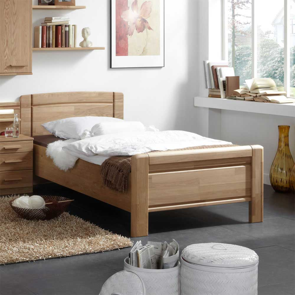 einzelbetten holz g nstig kaufen. Black Bedroom Furniture Sets. Home Design Ideas