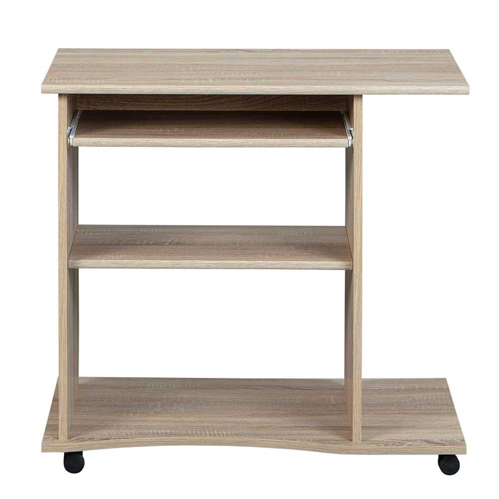Computertisch in Eiche Sonoma Tastaturauszug | Büro > Bürotische > Computertische | Holz | Holzwerkstoff | TopDesign