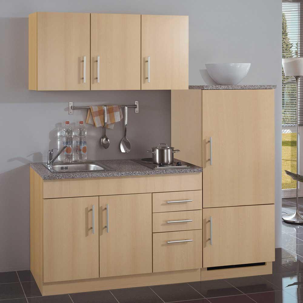 k chen f r kleine r ume g nstig kaufen. Black Bedroom Furniture Sets. Home Design Ideas