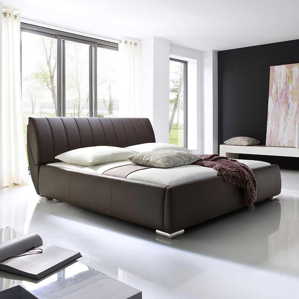 Futonbett mit Bettkasten Braun   Schlafzimmer > Betten > Futonbetten   Homedreams