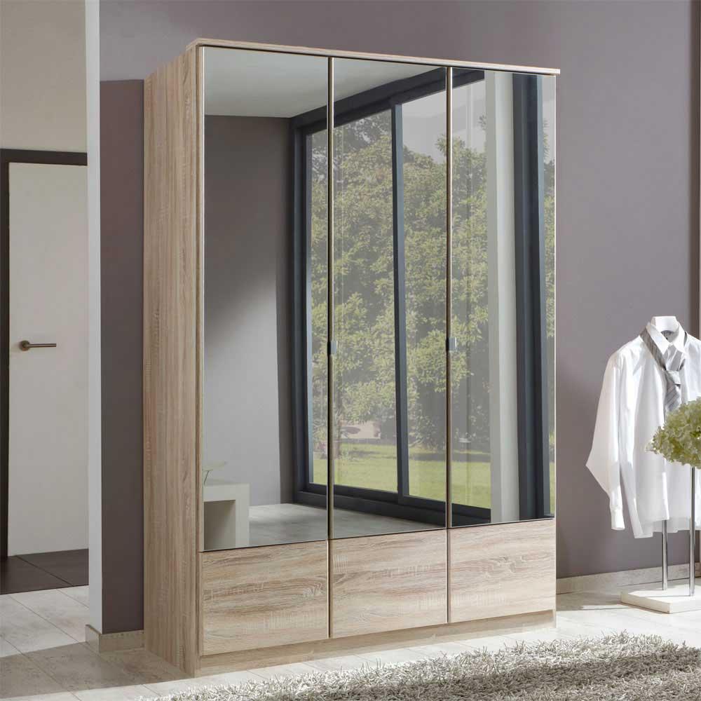 Schlafzimmerschrank mit Drehtüren Spiegeltüren | Wohnzimmer > Schränke > Weitere Schränke | Star Möbel