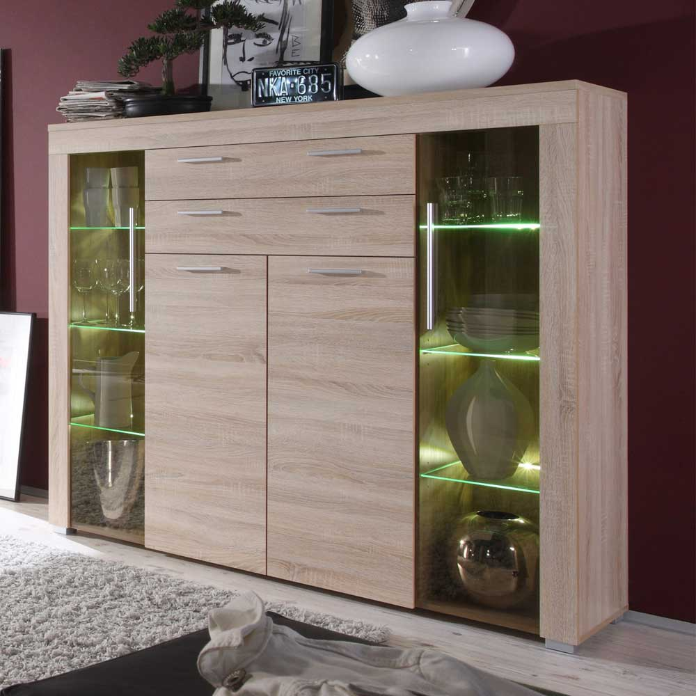 highboard in weiss 100 cm breit 369 b2b trade. Black Bedroom Furniture Sets. Home Design Ideas