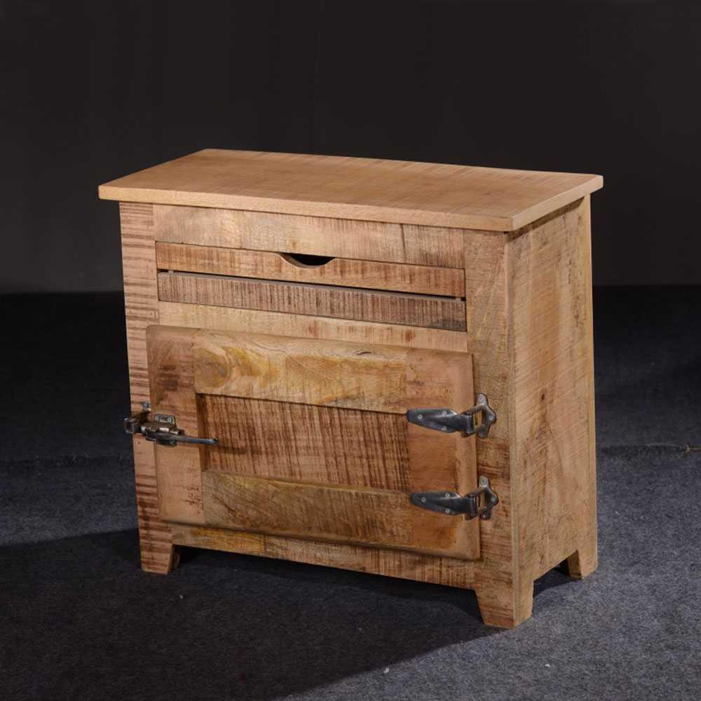 Flur Kommode 1-türig Shabby Chic   Flur & Diele > Regale für Flur und Diele > Standregale für Flur und Diele   Holz   Massivholz   Möbel Exclusive