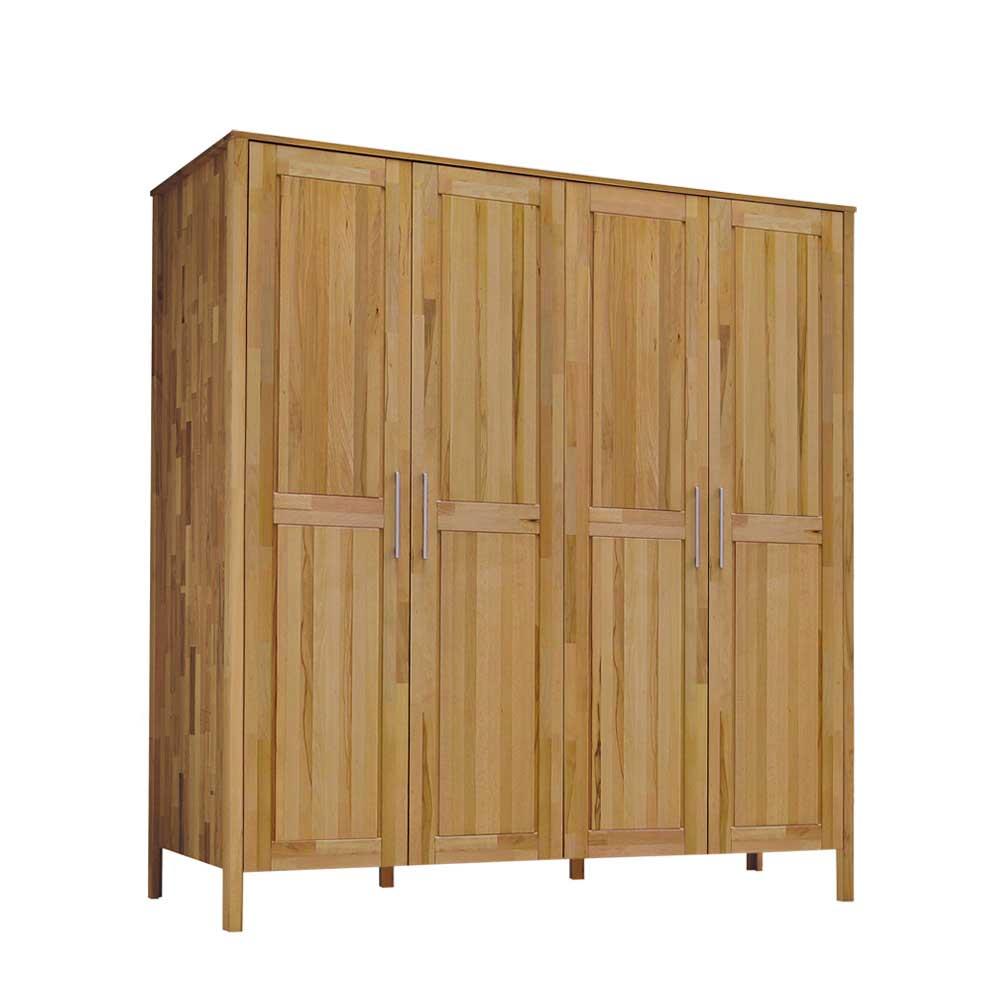Schlafzimmer-Schrank mit Drehtüren 4 türig