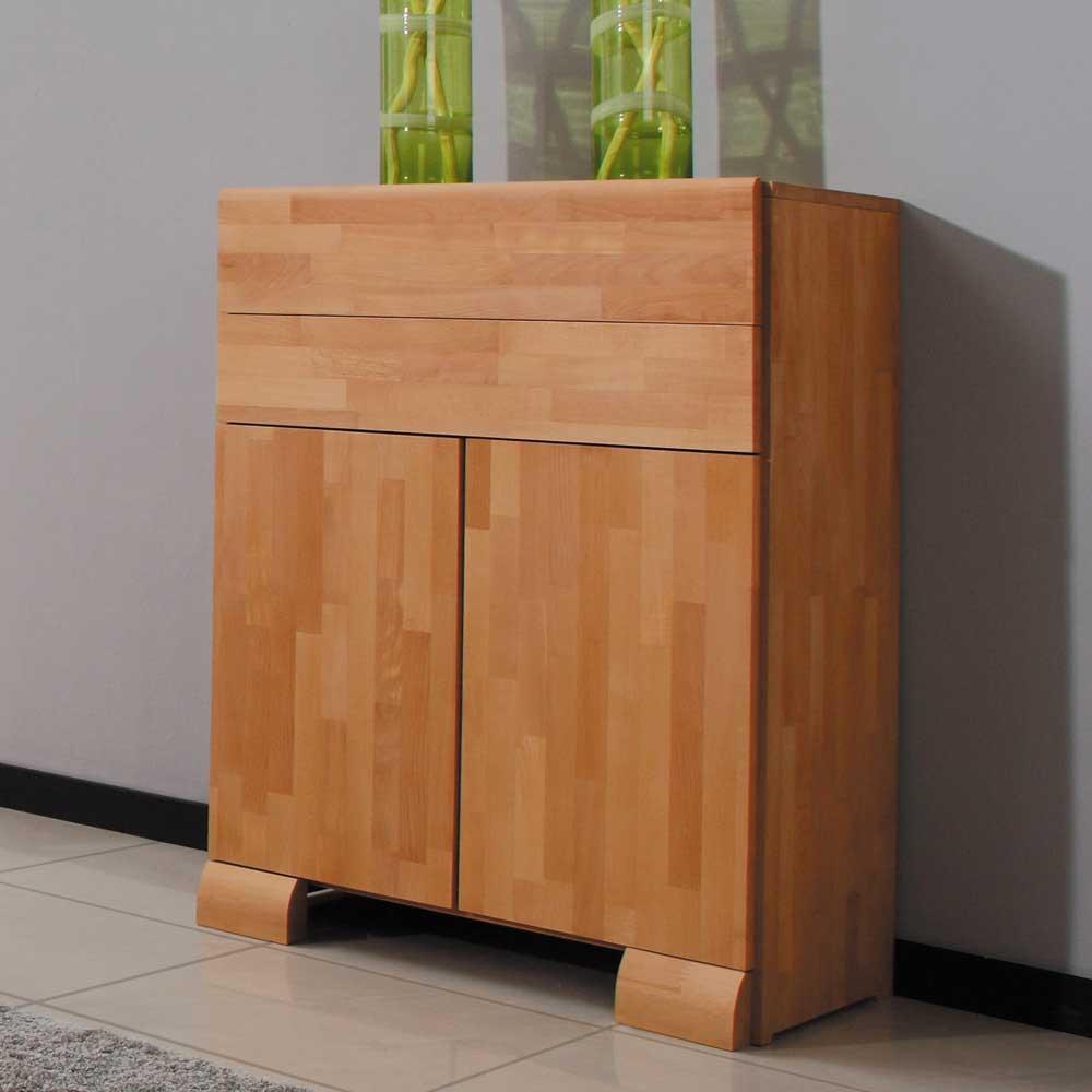 Schlafzimmer Kommode aus Buche Massivholz 80 cm breit