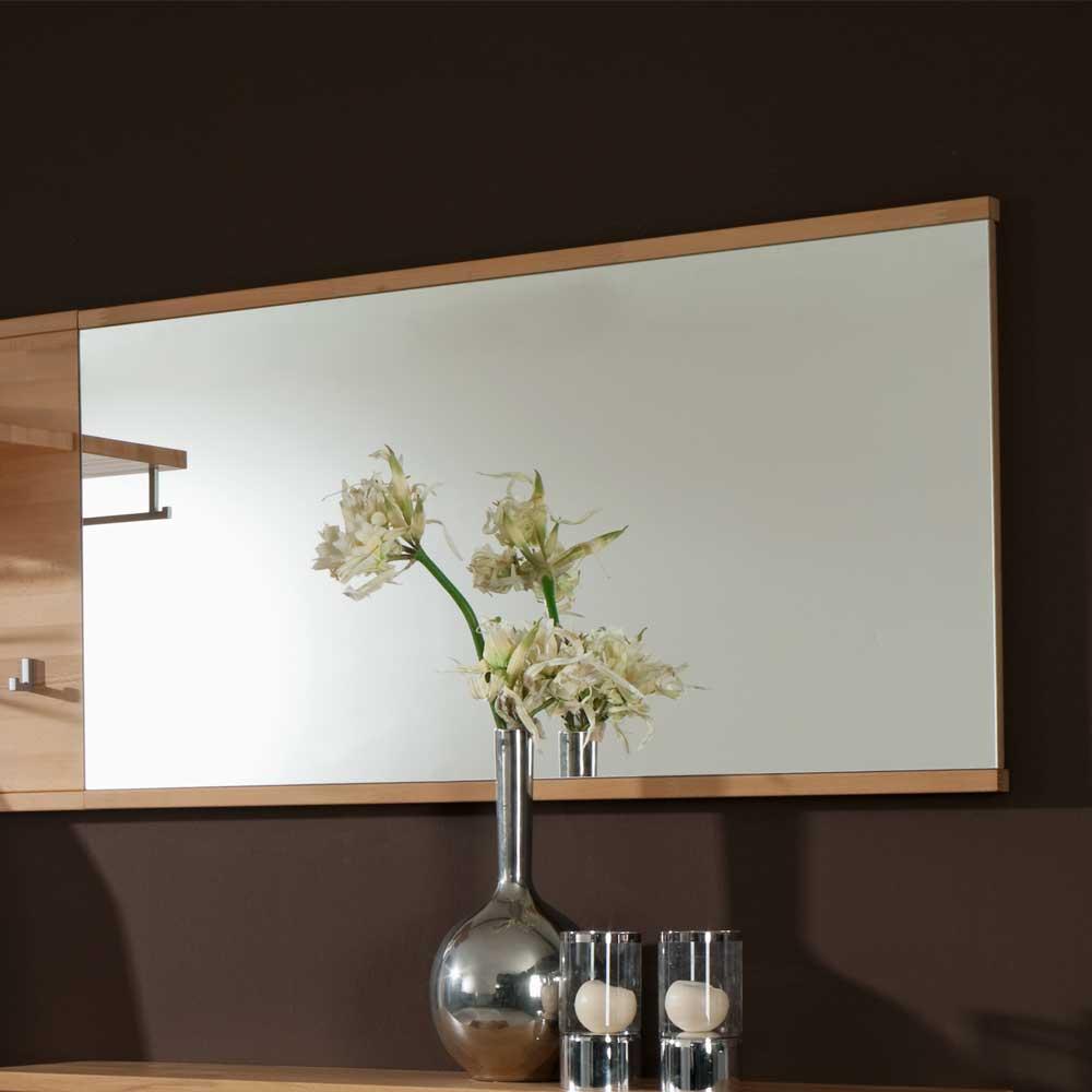 Garderobenspiegel aus Kernbuche Massivholz 120 cm breit | Flur & Diele > Spiegel > Garderobenspiegel | Wooding Nature