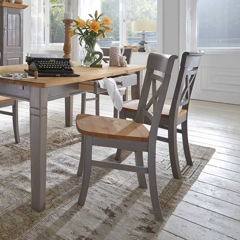 Grau Kiefer Holzstühle Online Kaufen Möbel Suchmaschine