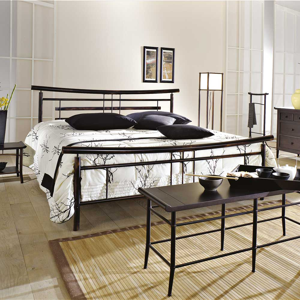 metallbett 180x200 g nstig kaufen. Black Bedroom Furniture Sets. Home Design Ideas