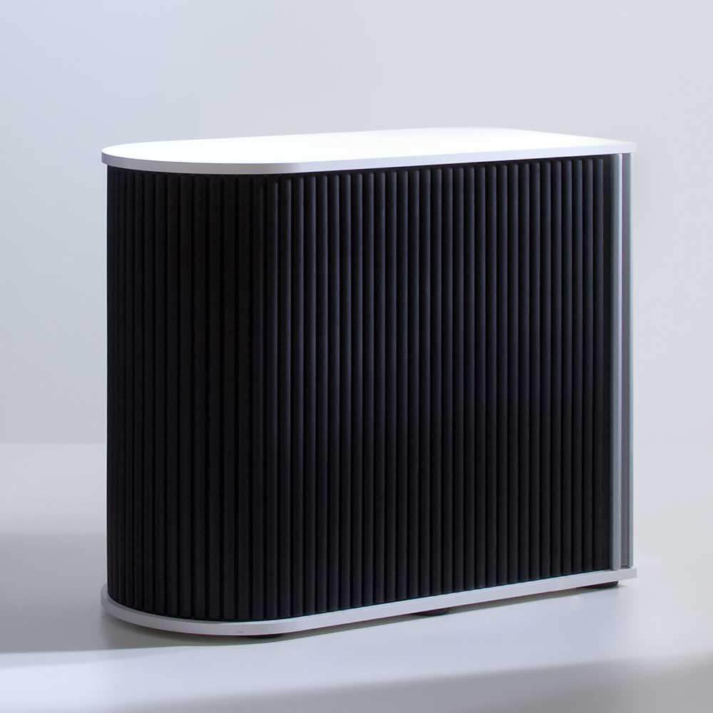aktenschrank mit rolladen schwarz wei ab 329 00 eur. Black Bedroom Furniture Sets. Home Design Ideas