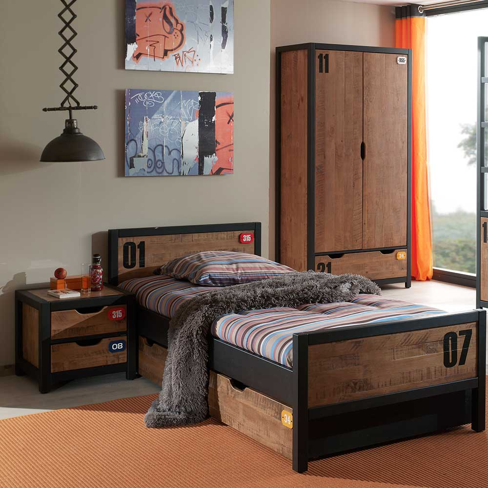 massivholz jugendzimmer komplett g nstig kaufen. Black Bedroom Furniture Sets. Home Design Ideas