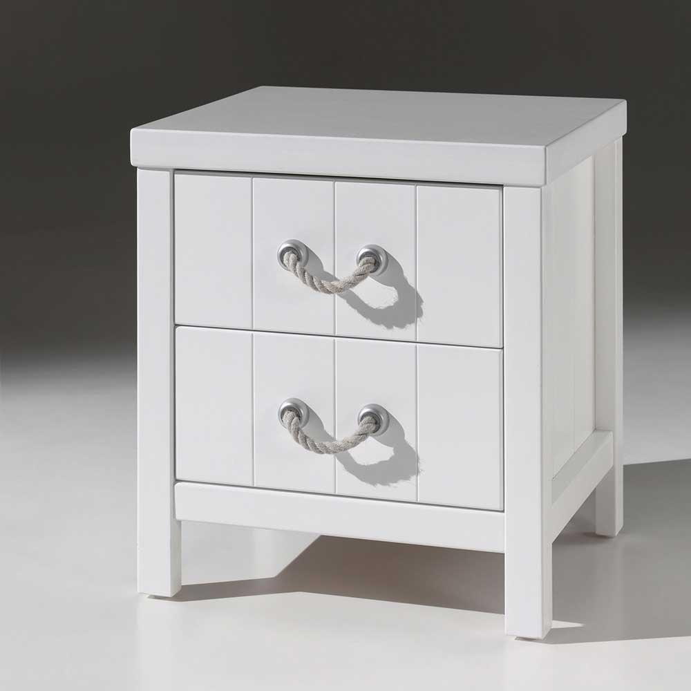 Nachttischchen für Kinderzimmer Weiß