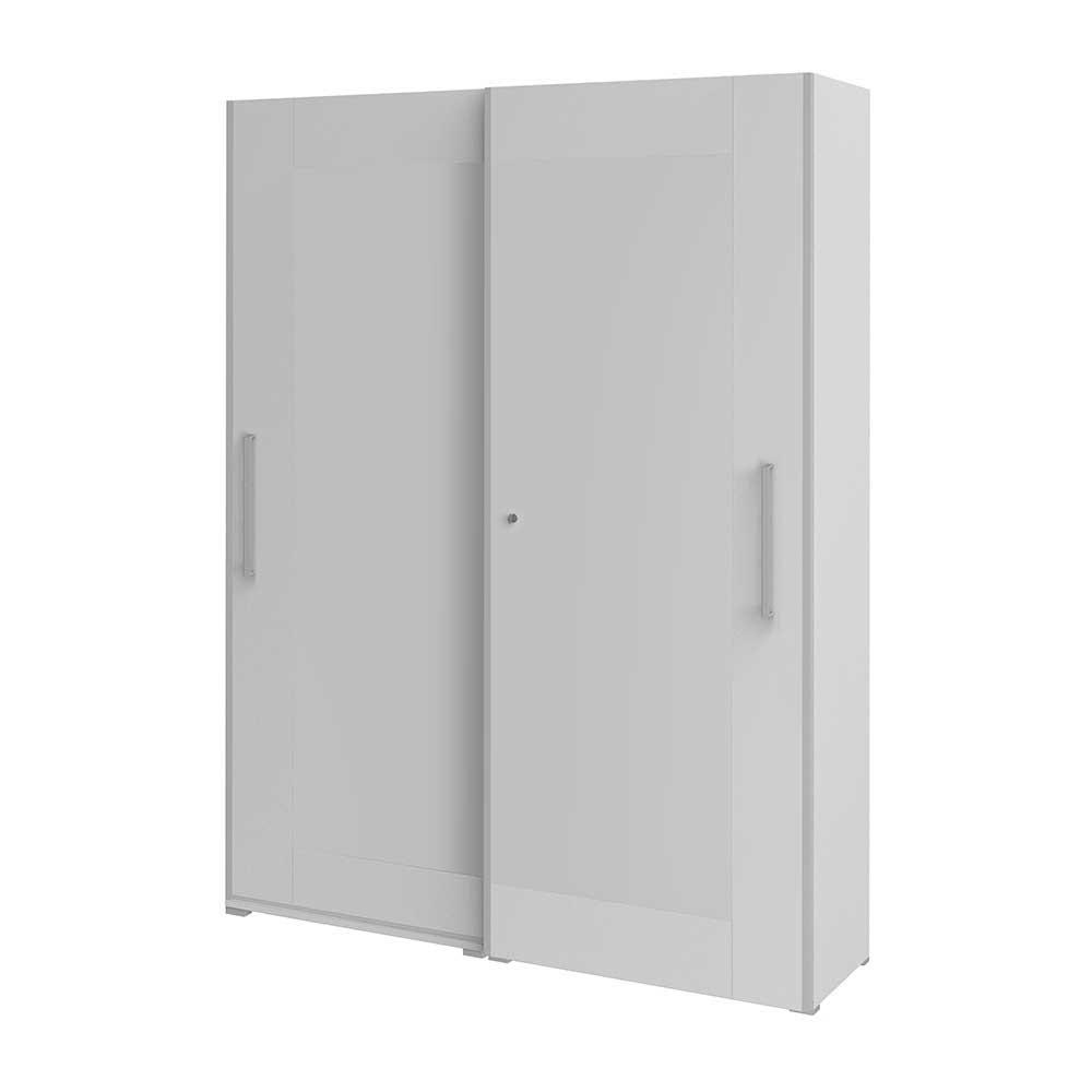 Büroschrank mit Schiebetüren 200 cm | Büro > Büroschränke > Aktenschränke | Weiß | Holzwerkstoff | Spirinha