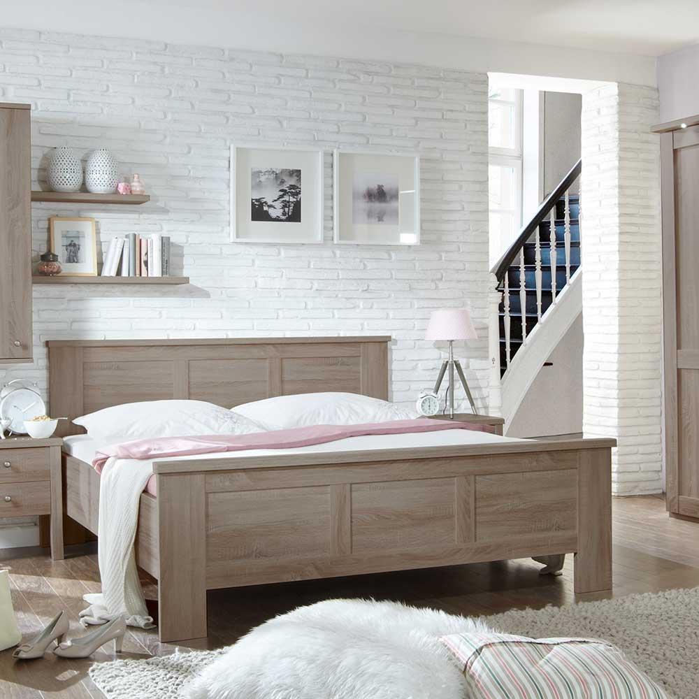 Komfortbett in Eiche Trüffel Klassisch | Schlafzimmer > Betten > Komfortbetten | Franco Möbel