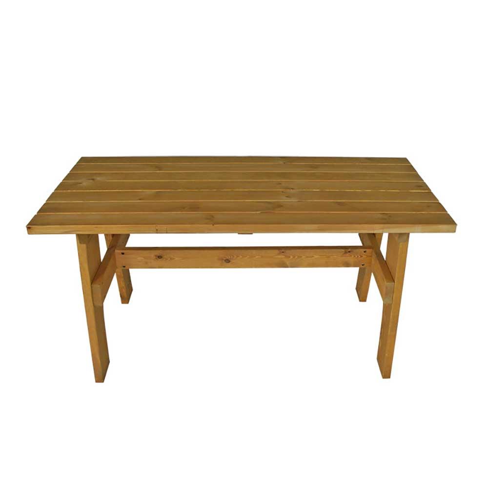 Gartentisch aus Kiefer massiv