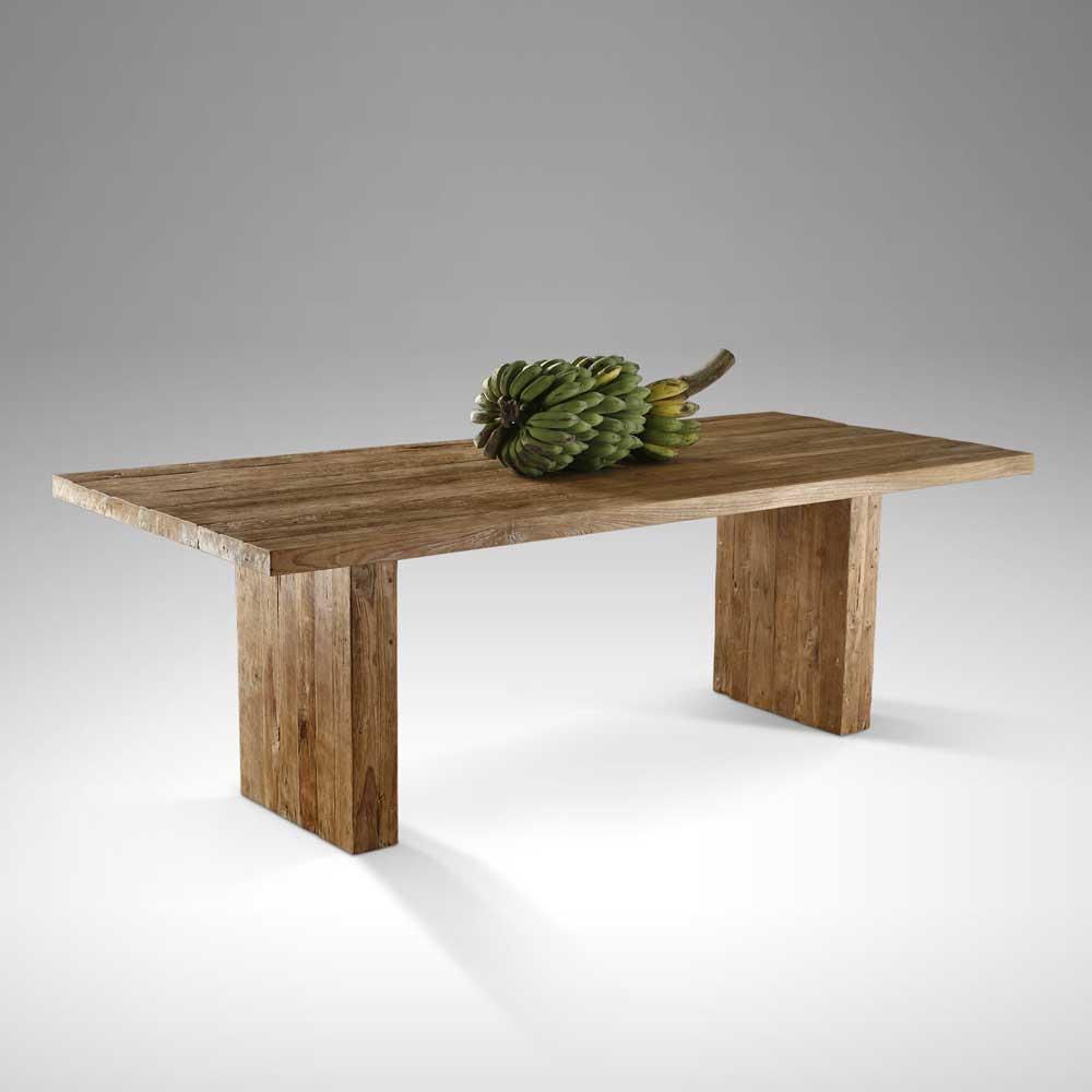 Esstisch aus Teak Altholz massiv