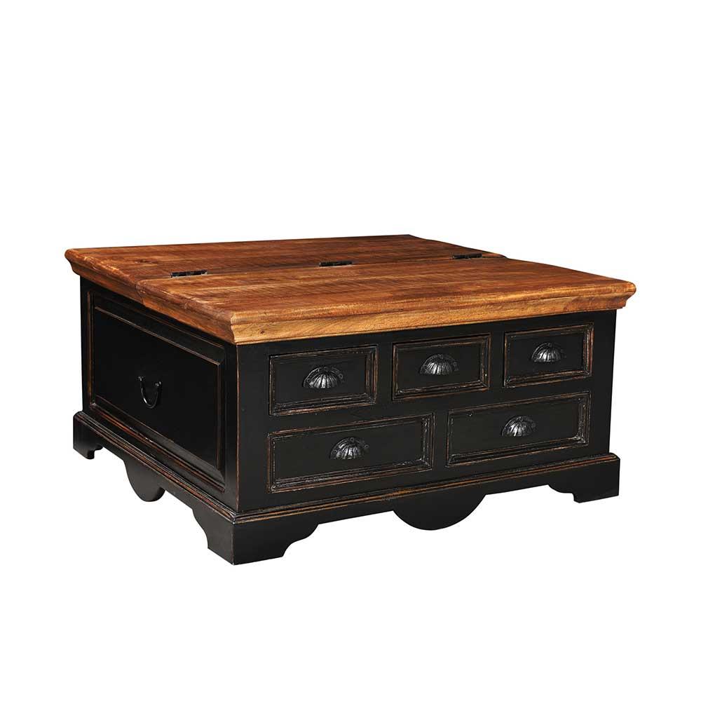 Couchtisch Truhe im Shabby Chic Design Antik Finish | Wohnzimmer > Tische > Truhentische | Möbel Exclusive