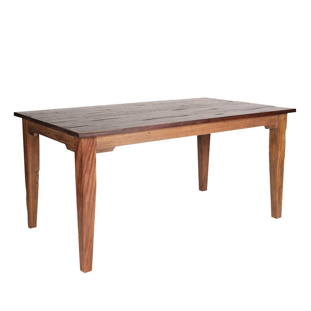 Esszimmertisch aus Teak Massivholz 160 cm
