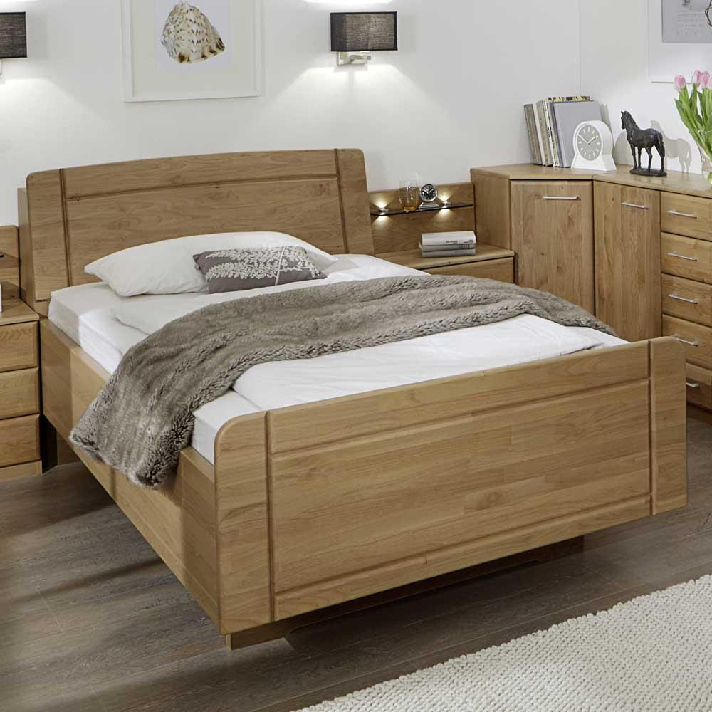 Bett mit Komforthöhe Komforthöhe