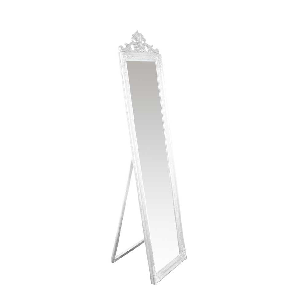 Standspiegel in Weiß massiv   Flur & Diele > Spiegel > Standspiegel   Doncosmo