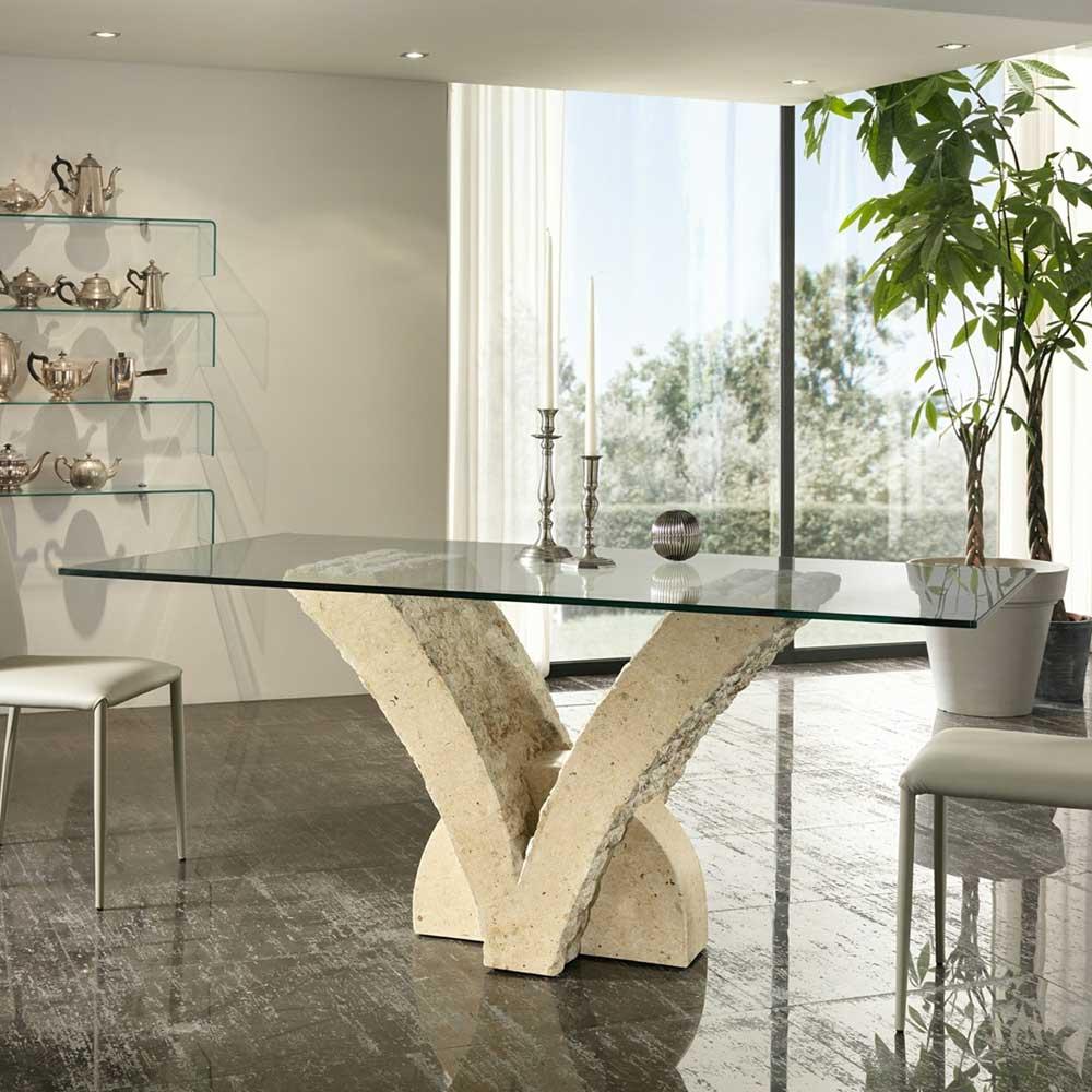 beige-glas Esstische online kaufen | Möbel-Suchmaschine | ladendirekt.de