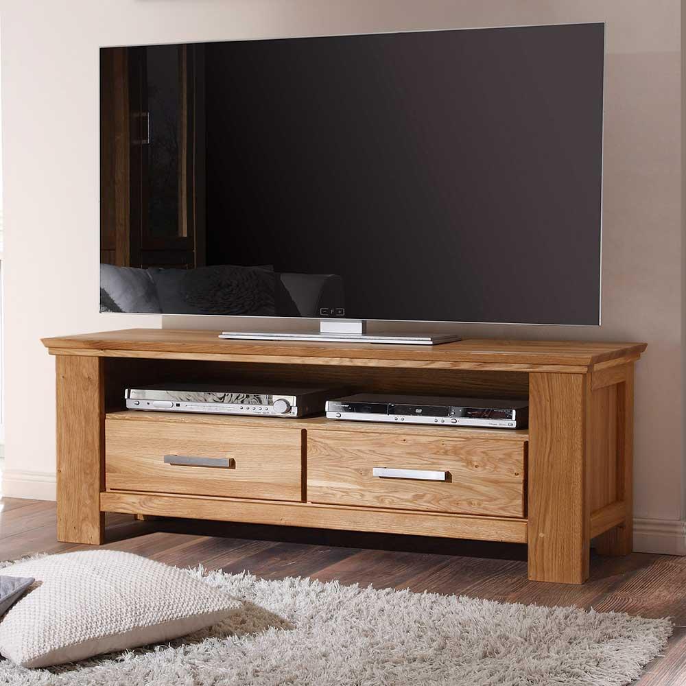 Fernsehtisch aus Wildeiche 150 cm