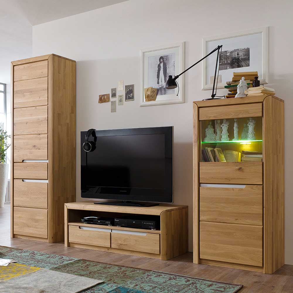 moebel wohnwaende z b wohnwand 3 tlg b2b trade. Black Bedroom Furniture Sets. Home Design Ideas