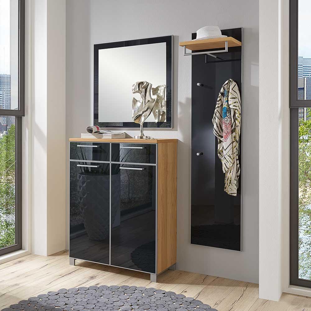grau stoff garderoben sets online kaufen m bel suchmaschine. Black Bedroom Furniture Sets. Home Design Ideas