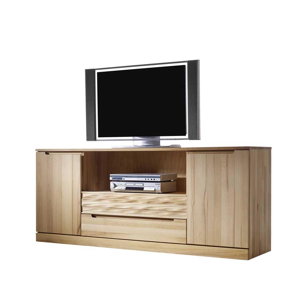 TV Schrank aus Kernbuche Massivholz 180 cm breit | Wohnzimmer > TV-HiFi-Möbel > TV-Schränke | Kernbuche - Massivholz - Geölt | Dreaming Forest