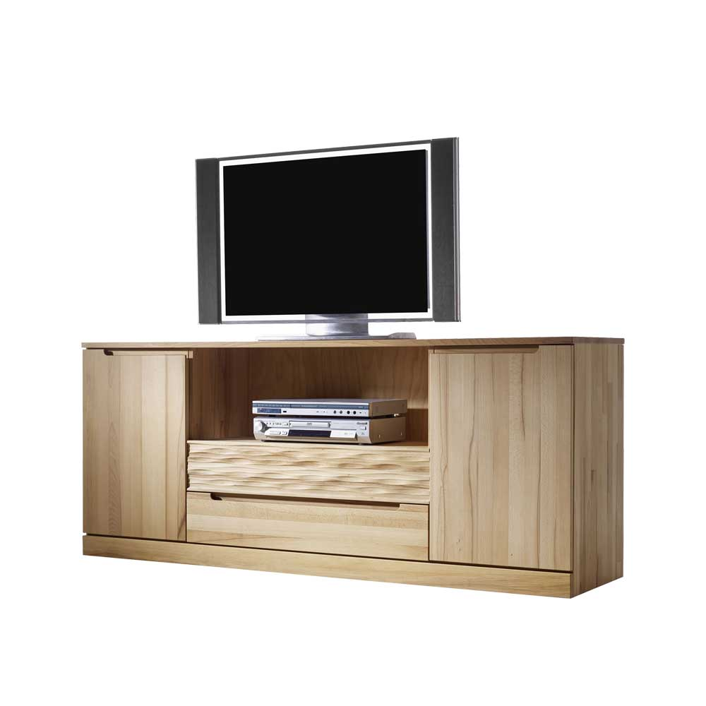TV Schrank aus Kernbuche Massivholz 180 cm breit