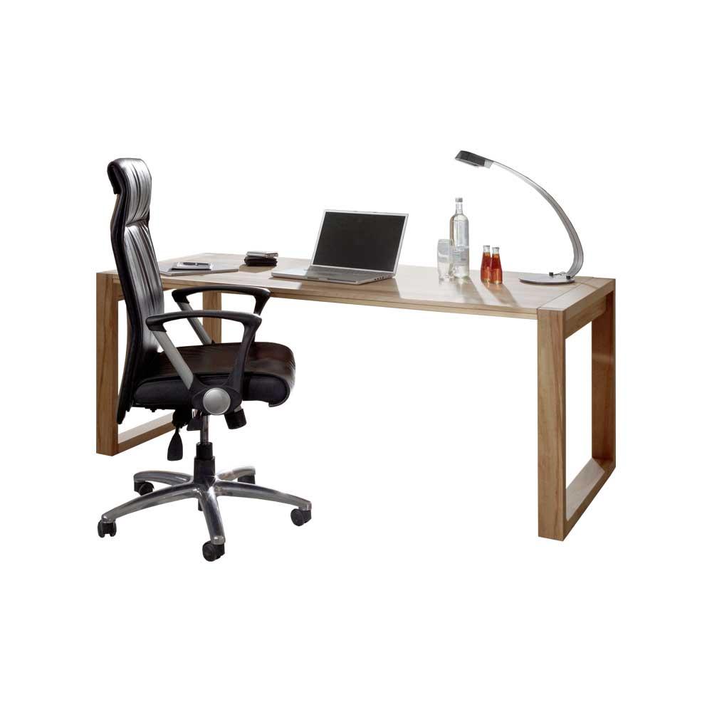 Computer Schreibtisch aus Kernbuche Massivholz geölt   Büro > Bürotische > Computertische   Kernbuche - Massivholz - Massiv - Holz - Geölt   Dreaming Forest