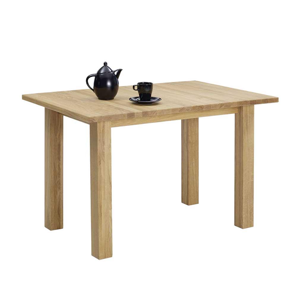 Holztisch aus Kernbuche massiv ausziehbar