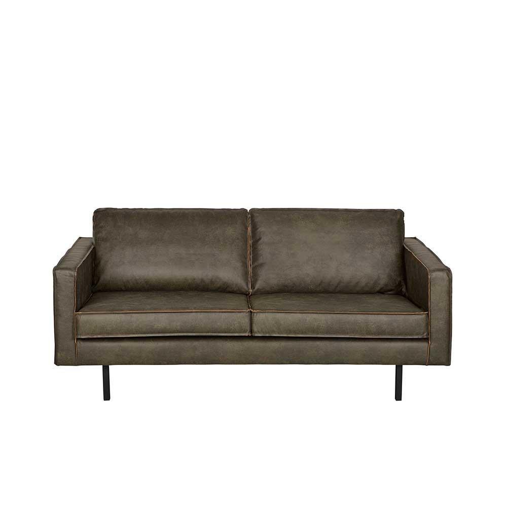 Sofa für Lounge Grau Braun
