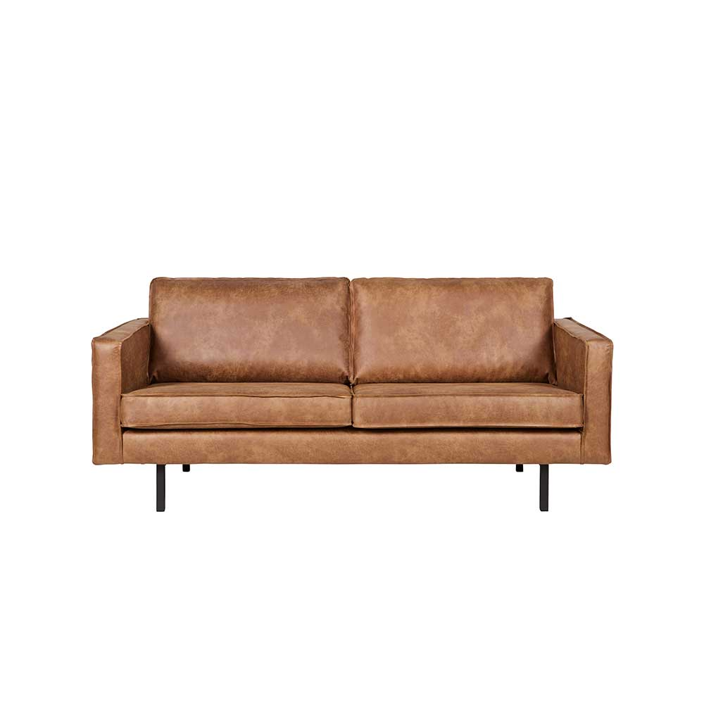 Lounge Sofa in Braun recycling Leder