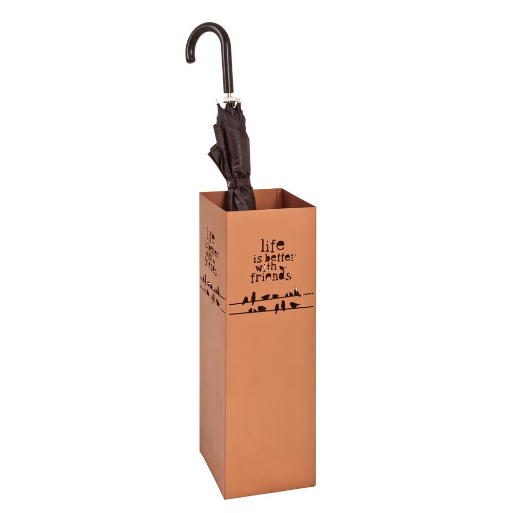 Regenschirmständer in Kupferfarben Metall   Flur & Diele > Schirmständer   Tollhaus