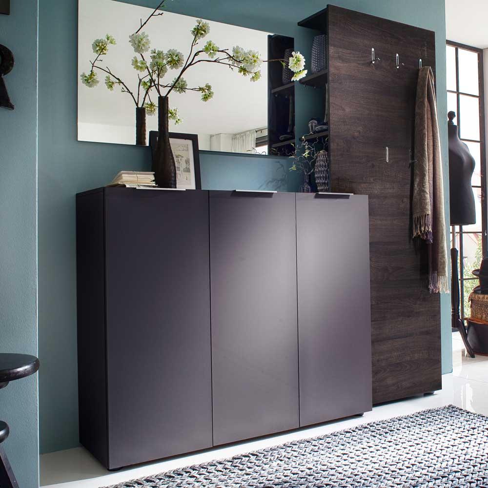 braun garderoben sets online kaufen m bel suchmaschine. Black Bedroom Furniture Sets. Home Design Ideas