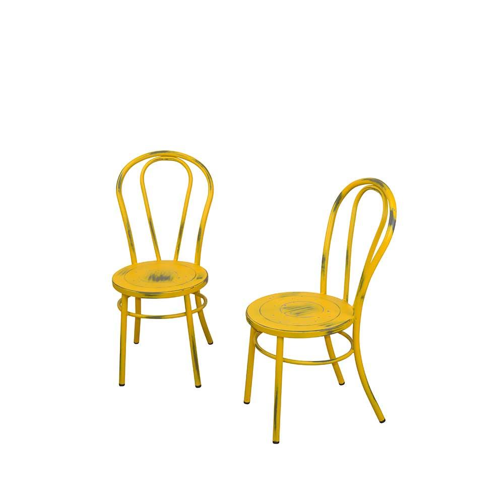 Gelb Stahl Esszimmerstühle Online Kaufen Möbel Suchmaschine