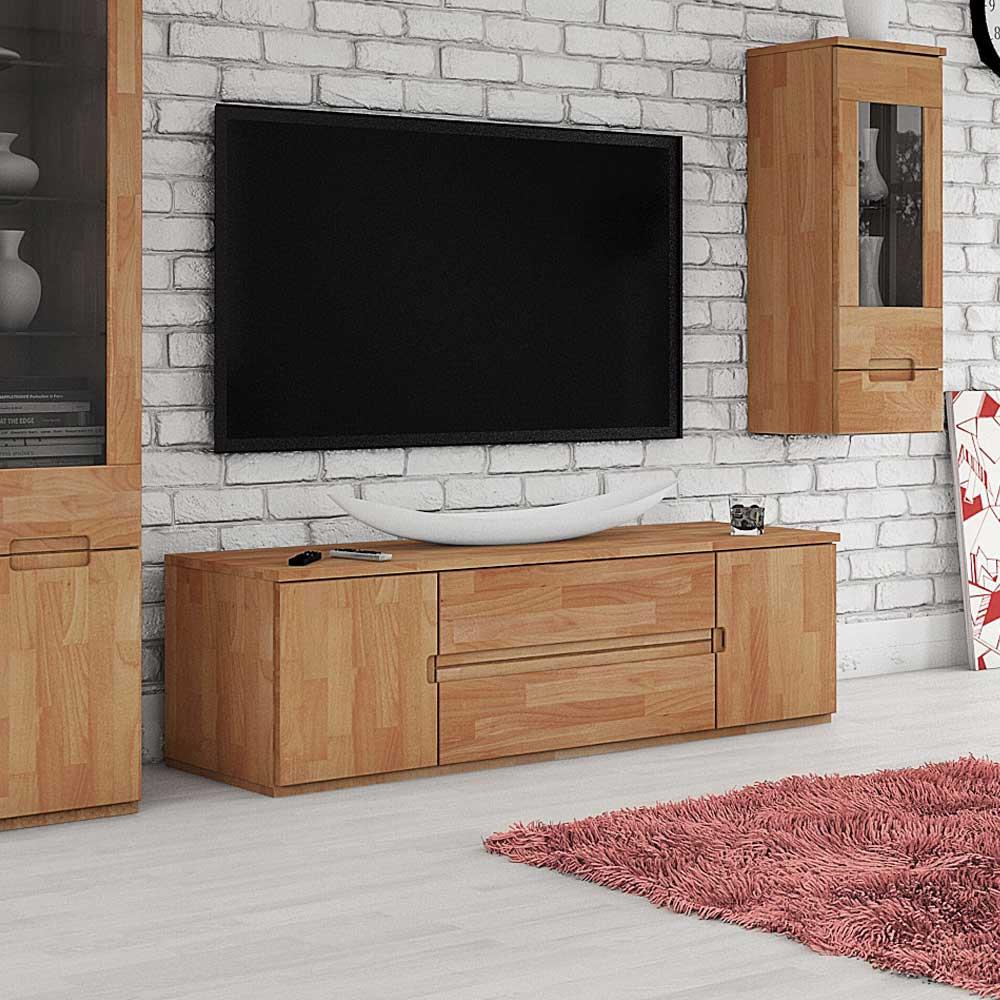 TV Lowboard aus Buche Massivholz geölt