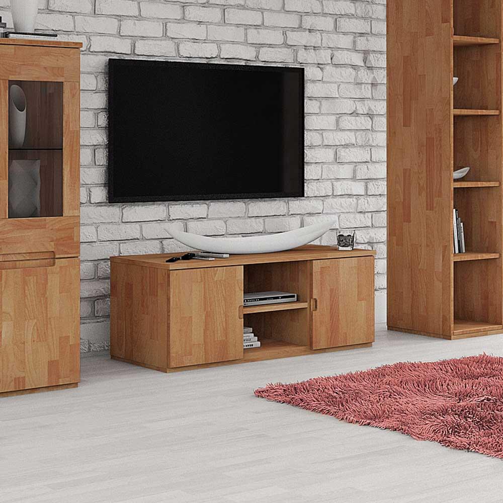 TV Board aus Buche Massivholz geölt