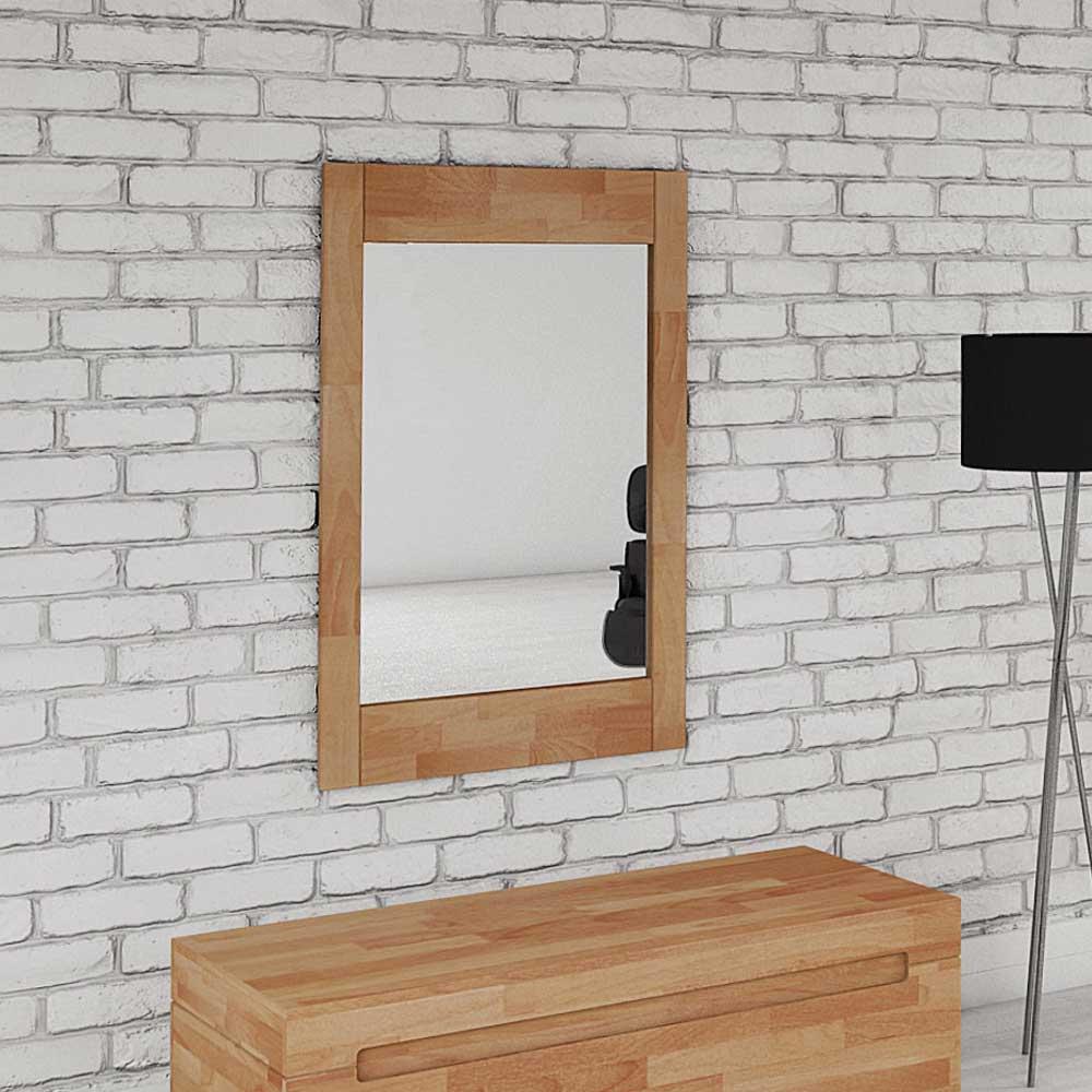 Garderobenspiegel aus Buche massiv Klassisch   Flur & Diele > Spiegel > Garderobenspiegel   Holz   Glas   Basilicana