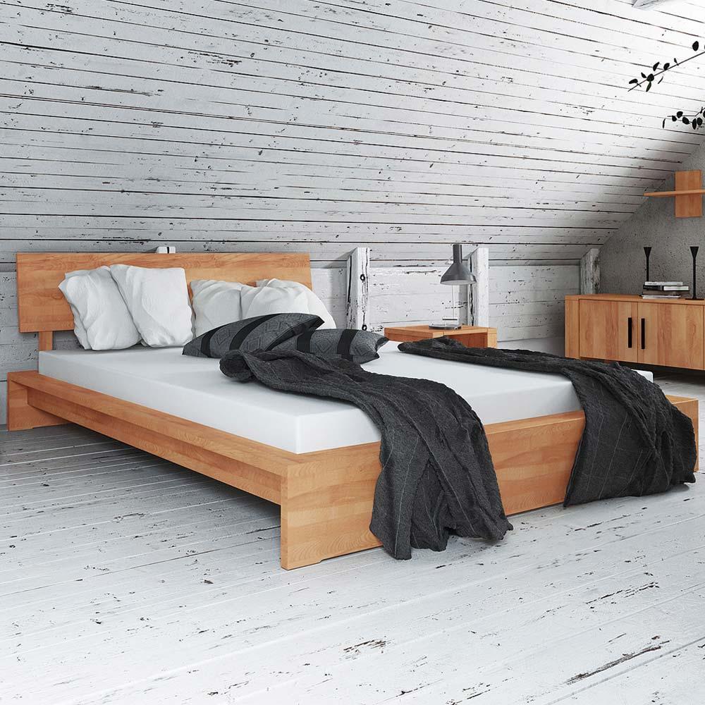 Kernbuche Futonbett massiv geölt | Schlafzimmer > Betten > Futonbetten | Holz | Massivholz | Basilicana