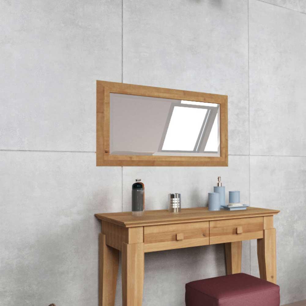 Garderobenspiegel aus Wildeiche Massivholz natur geölt | Flur & Diele > Spiegel > Garderobenspiegel | Basilicana