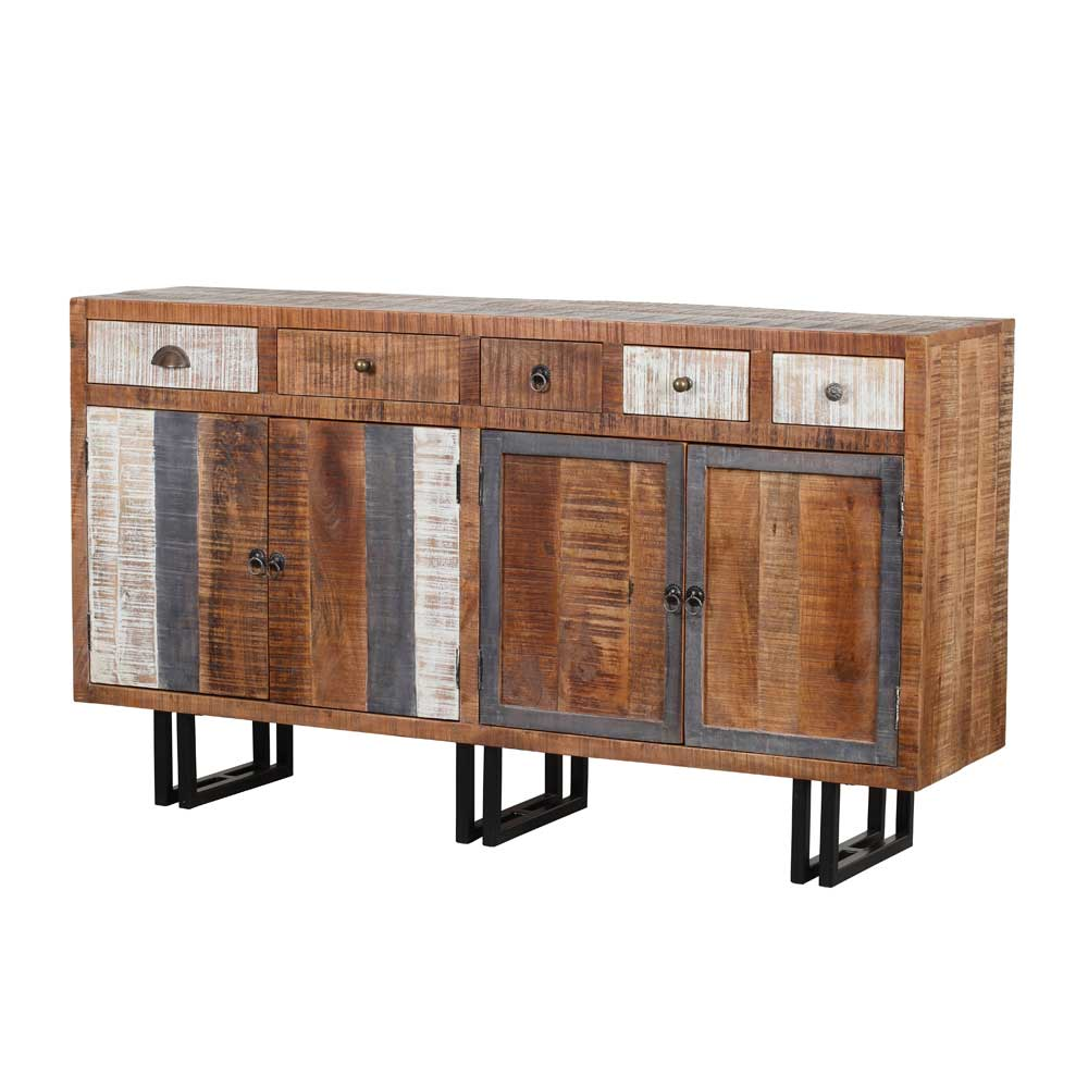 Sideboard aus Recyclingholz 160 cm breit
