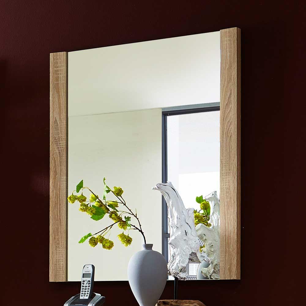 Garderobenspiegel in Eiche Sonoma modern | Flur & Diele > Spiegel > Garderobenspiegel | Holz | Holzwerkstoff | BestLivingHome