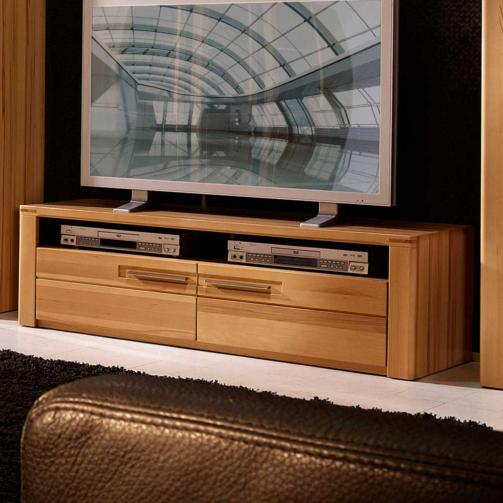 TV Lowboard aus Kernbuche lackiert 130 cm breit