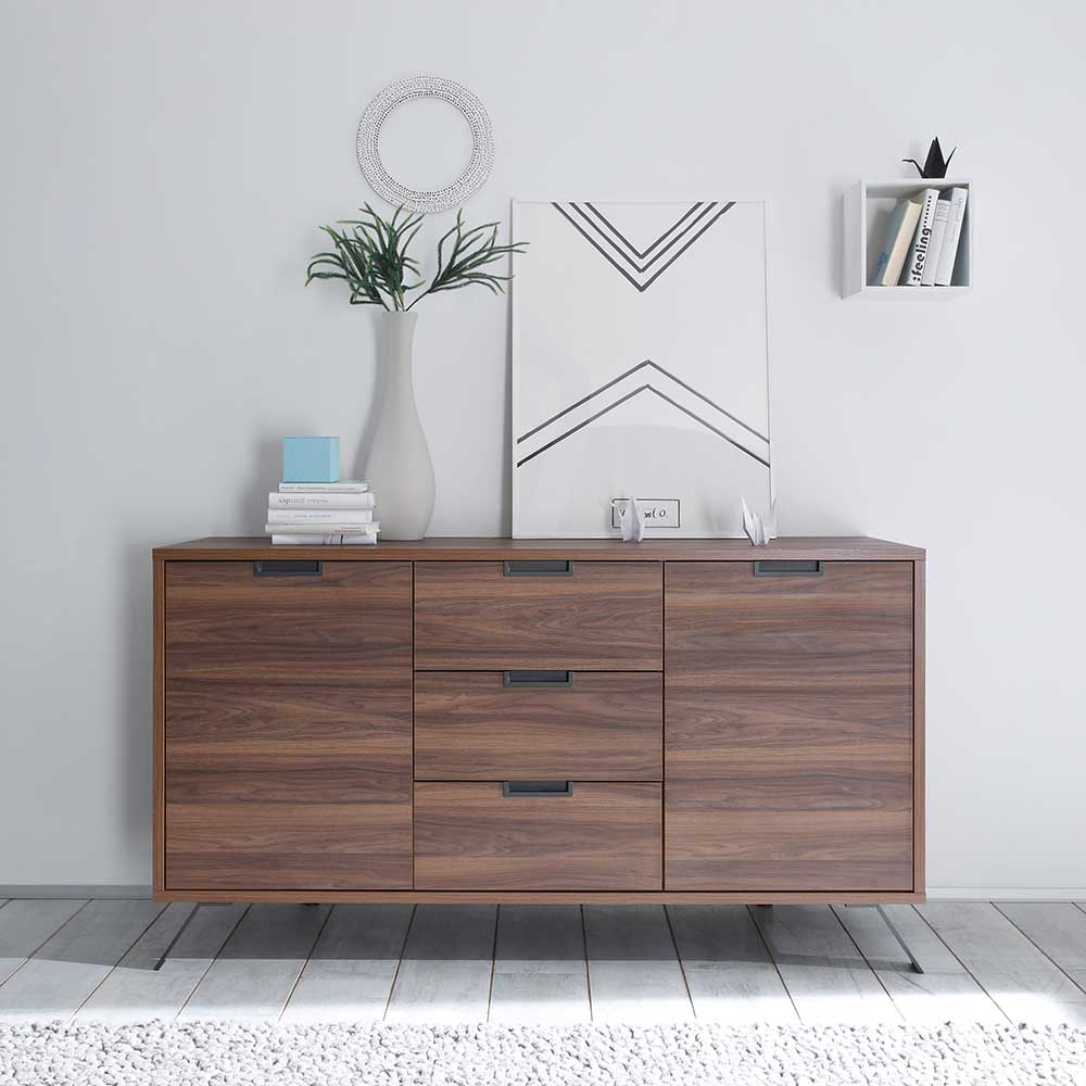 Retro Sideboard in Nussbaum modern